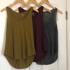 3 Pack Small Old Navy Tanks